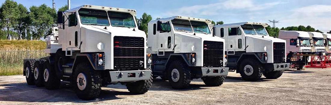 Oshkosh vrachtwagens